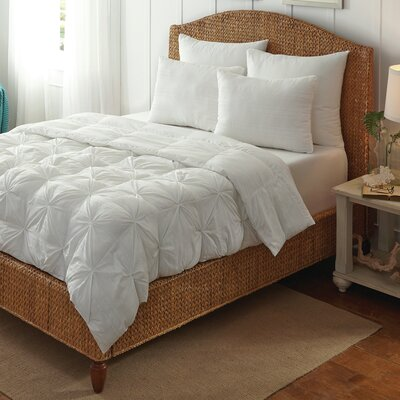 Hodgson Pintuck All Season Down Alternative Comforter Size: Twin