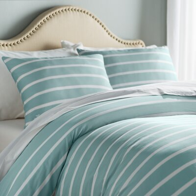 Andersen Duvet Cover Size: Twin, Color: Seaside Aqua