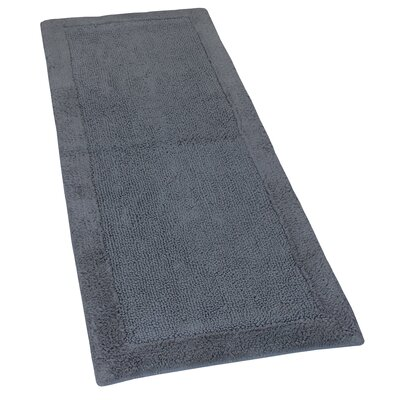 Golding 2 Piece 100% Cotton Bella Napoli Reversible Bath Rug Set Color: Stone, Size: 30 H X 20 W and 40 H X 24 W