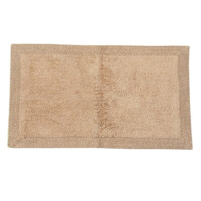 Golding 100% Cotton Bella Napoli Reversible Bath Rug Size: 60 H X 22 W, Color: Taupe