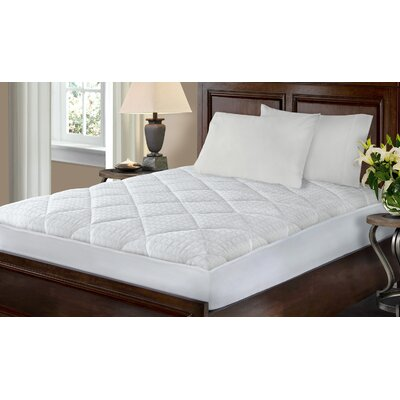 Kingsley Hygro Luxe Polyester Mattress Pad Size: Queen