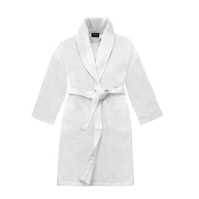 Kafka Unisex Honeycomb Shawl Bathrobe