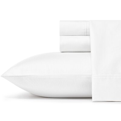 Braxton 300 Thread Count 100% Cotton Sheet Set Size: King, Color: White