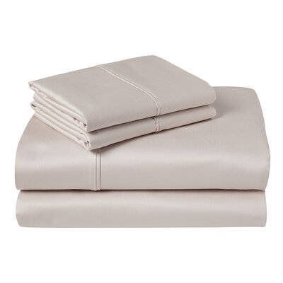 Cather 1000 Thread Count 100% Cotton Sheet Set Color: Birch, Size: King