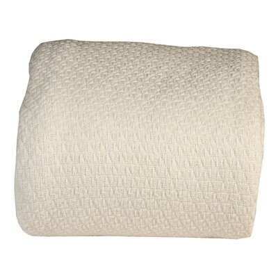 Greene Super Soft Cotton Blanket Size: Queen, Color: Tender Peach
