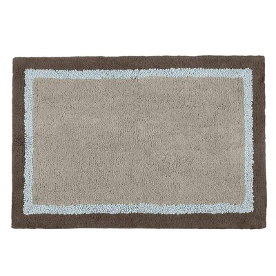 Garion Bath Rug Color: Blue
