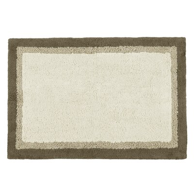 Garion Bath Rug Color: Taupe