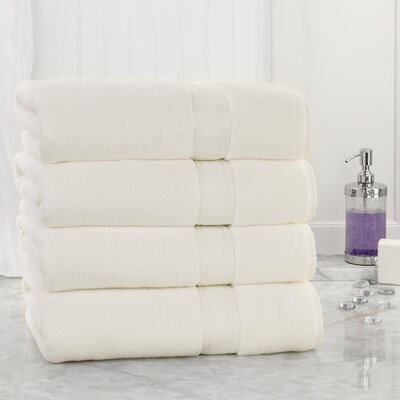 Super Absorb Bath Sheet Color: Ivory