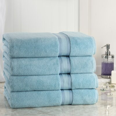 Super Absorb Bath Sheet Color: Blue