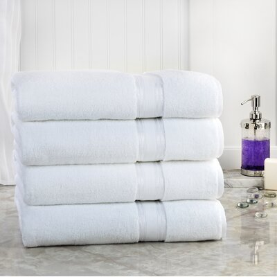 Super Absorb Bath Sheet Color: White