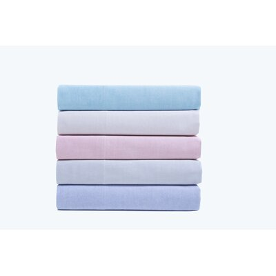 Hesse Pillow Case Size: King, Color: Blue