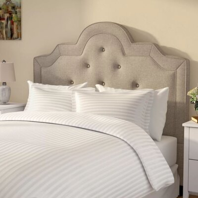 Patric Duvet Set Color: White, Size: Full / Queen