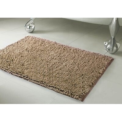 Garlyn Plush Bath Mat Size: 21 x 34, Color: Light Gray