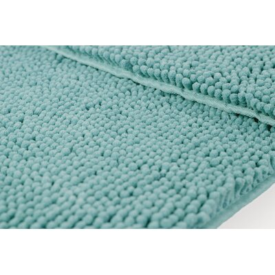 Garlyn Plush 2 Piece Bath Mat Set Color: Light Gray