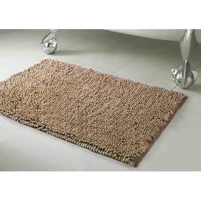 Garlyn Plush Bath Mat Set Color: Linen