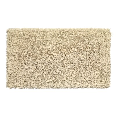 Garlan Bath Rug Color: Ivory