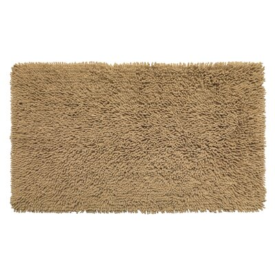Garlan Bath Rug Color: Linen