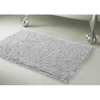 Garlyn Plush Bath Mat Set Color: Light Gray
