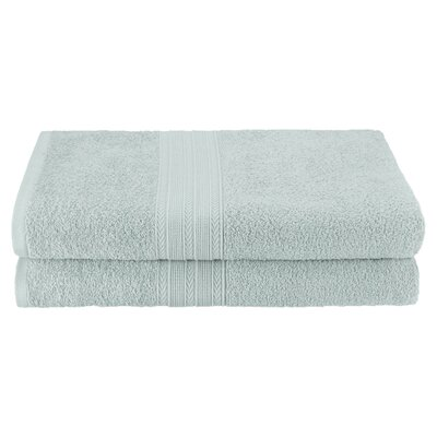 Petrie 2 Piece Bath Sheet Color: Aqua Marine