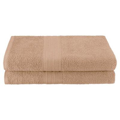 Petrie 2 Piece Bath Sheet Color: Camel