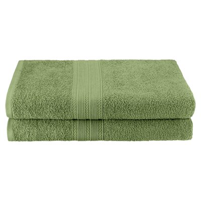 Petrie 2 Piece Bath Sheet Color: Terrace Green