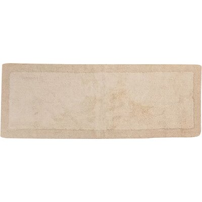 Golding 100% Cotton Bella Napoli Reversible Bath Rug Size: 60 H X 22 W, Color: Ivory