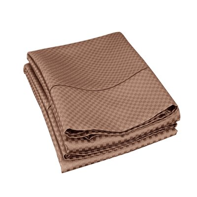 Edgardo Pillowcase Size: Standard, Color: Taupe