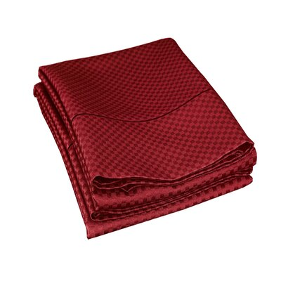Edgardo 800 Thread Count Pillowcase Size: Standard, Color: Burgundy