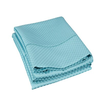 Edgardo Pillowcase Size: King, Color: Teal