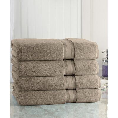 Super Absorb Bath Sheet Color: Taupe