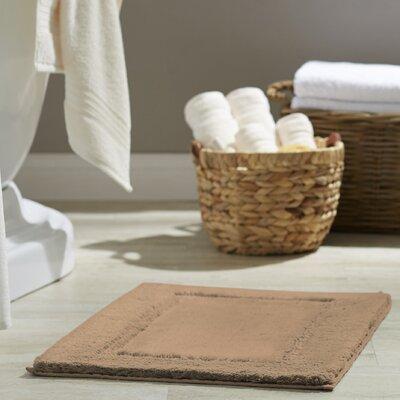Clarke Bath Rug Size: 17 W x 24 L, Color: Sand