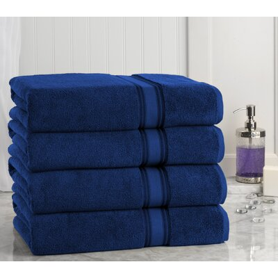 Super Absorb Bath Sheet Color: Navy