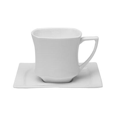 Red Vanilla Niagara Tea Cup and Saucer CW102-212/4