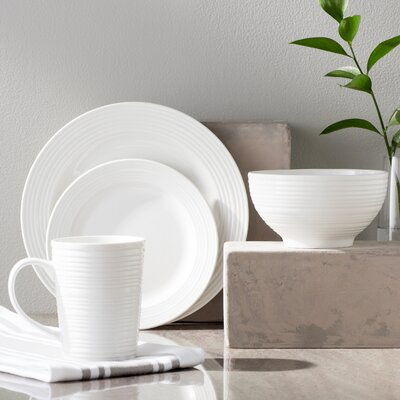 Colleen 16 Piece Dinnerware Set, Service for 4 LFMF1181 39348097