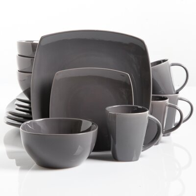 Rue 16 Piece Dinnerware Set (Set of 2) MNTP1157 34298952