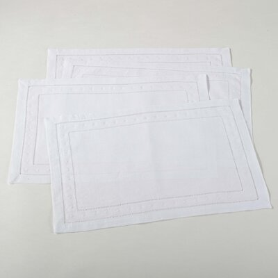 Jonah Placemat Color: White MNTP1258 37665562