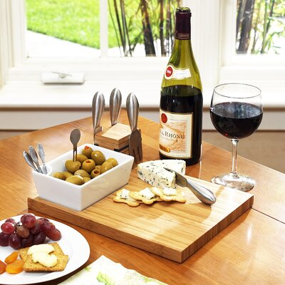 Lucama 10 Piece Cheese Tray Set