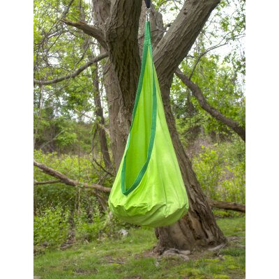 Pod Kids Polyester Chair Hammock Color: Green