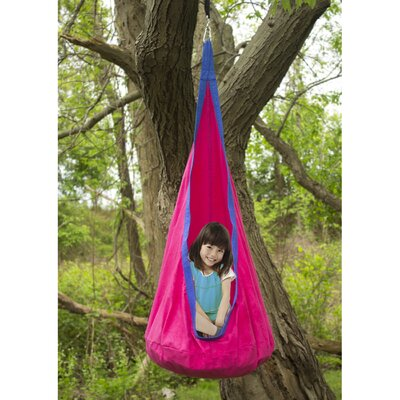 Pod Kids Polyester Chair Hammock Color: Pink