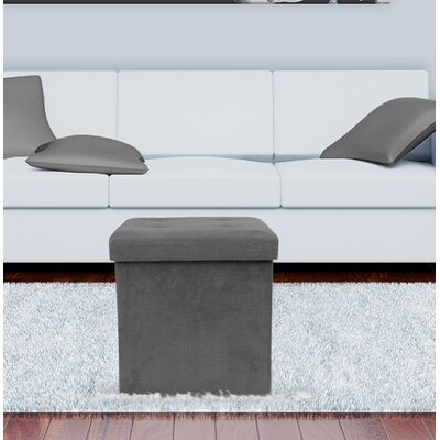 Ottoman Upholstery: Gray