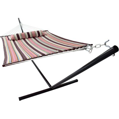 Ashlee Hammock with Stand Color: Mocha