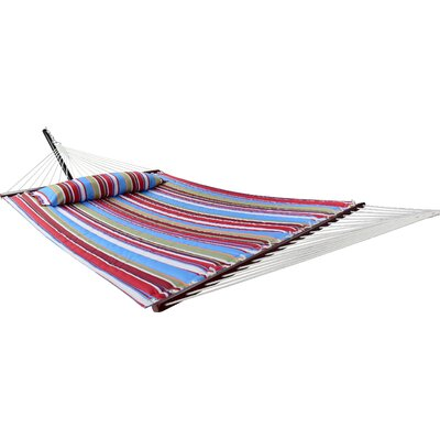 Angelina Tree Hammock Color: Blue/Red