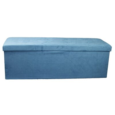 Storage Ottoman Upholstery: Teal