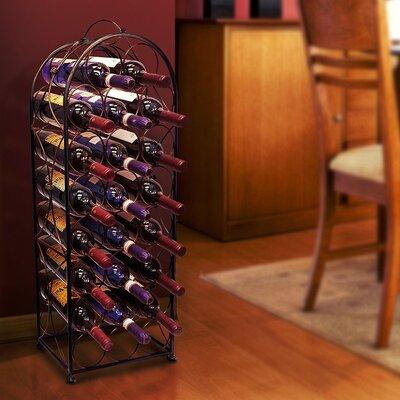 Brussels 23 Bottle Floor Wine Bottle Rack