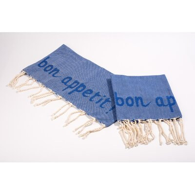 Hand Towel Color: Blue