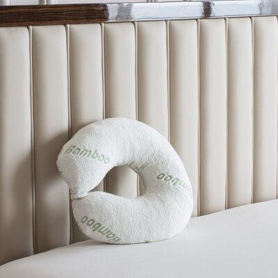Deluxe Rayon from Bamboo Travel Memory Foam Neck Pillow