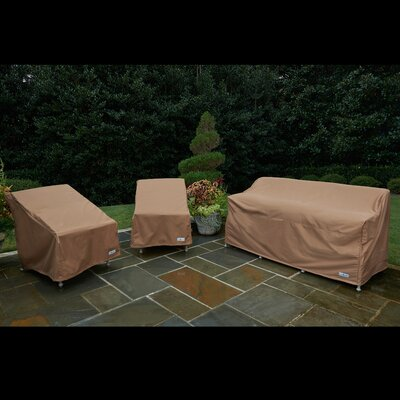 3 Piece Chair and Sofa Cover Set