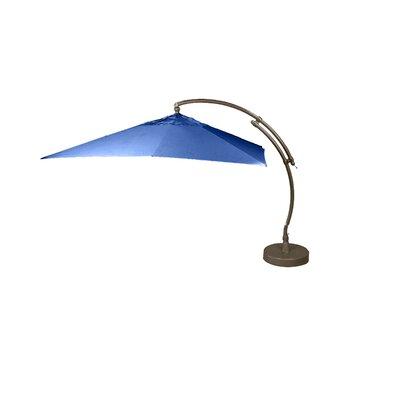 10.5 Easy Sun Square Cantilever Umbrella Fabric: Blue