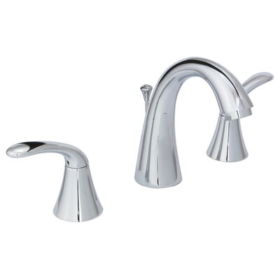Trend Widespread Standard Faucet Double Handle with Drain