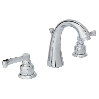 Sienna Widespread Lever Handle Bathroom Faucet with Drain Assembly Finish: Chrome